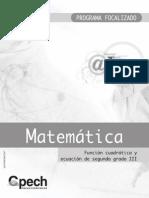 FM-252 Funcion Cuadratica y Ecuacion 2 III
