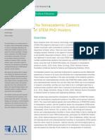 STEM Nonacademic Careers April14