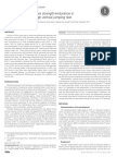 Assessment of Explosive Strength-Endurance in Volleyball Players Through Vertical Jumping Test