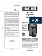 Manual b&d Starter Vec010bd