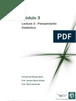 Módulo 3 Lectura 4 Pensamiento Dialectico.pdf