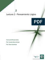Módulo 2 Lectura 1 - Pensamiento Logico Informal.pdf