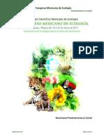 IV Congreso Mexicano de Ecología - Resúmenes de Carteles