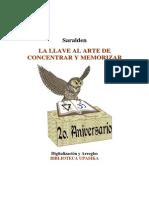 la llave al arte de concentrar y memorizar.pdf