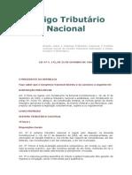 Codigo Tributario Nacional e Internacional Br