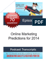 Online Marketing Predictions for 2014