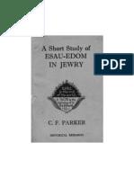 A Short Study of Esau Edom in Jewry-1