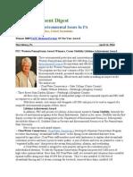 Pa Environment Digest April 14, 2014