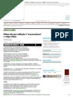 Dilma diz que inflação é 'momentânea' e culpa clima - 11_04_2014 - Mercado - Folha de S