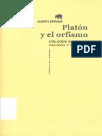 151681685 Platon y El Orfismo Dialogos Entre Religion y Filosofia Alberto Bernabe