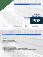 MÓDULO I - EL SISTEMA POLITICO ARGENTINO
