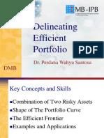 Efficient Portfolio Pws Dmb Ipb