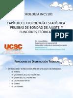 Cap.3 Hidrologia Estadistica Funciones Teoricas