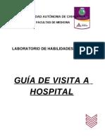 Guia de Visita a Hospital 2012