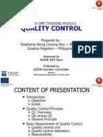 GMP Quality Control Module