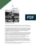 Reportaje a Garrincha