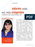 Alejandra Rivera - Colaboradores cada vez más exigentes