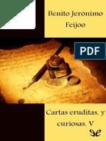 Feijoo, Benito Jeronimo - [Cartas Eruditas, y Curiosas 5] Cartas Eruditas, y Curiosas [10153] (r1.0)