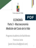 Clase 018 Bachillerato Macroeconomia 03 Medicion Del Costo de La Vida