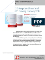 Big Data Technology on Red Hat Enterprise Linux