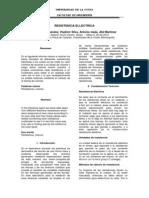 Informe - Resistencia Electrica