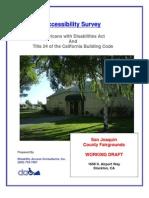 San Joaquin County Fairgrounds - ADA Accessibility Report
