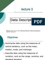 Descriptive Statsitcs
