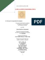 La Practica de La Antigua Masoneria Turca