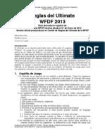Reglas Del Ultimate WFDF 2013, Version en Revision Para J.C. Cuetia (1)