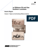 The History of the Offshore Oil & Gas Industry in Southern Louisiana - Vol 1