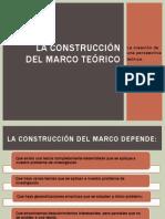 La construcción del marco teórico