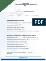Ficha Tecnica Inventario Infraestructura 2014