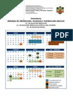 CALENDARIO de jornadas de práctica-13-14