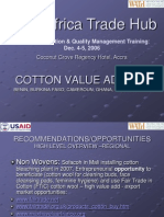 03- Cotton Value Adding-Training Workshop
