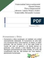 Humanismo y Etica Como Unidad Indispensable
