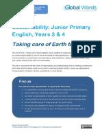 GlobalWords Sustainability JP3 4print