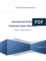 JNNSM GJawaharlal Nehru National Solar Mission  Phase II – Policy Document UIDLINES