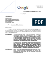 10-28-09 Google Voice Letter to FCC