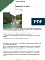 Costa Rica inaugura pequeña central hidroeléctrica