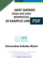 Presentasi Universitas Sebelas Maret 2014
