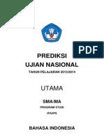 Prediksi Soal Dan Pembahasan Bahasa Indonesia UN IPA 2014