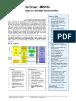 JN516X data sheet
