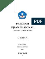 Prediksi Soal Dan Pembahasan UN IPA Biologi 2014
