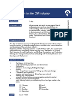 Brief Introduction to Oil Industry