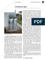 Introduction Of Liquified Petroleum Gas