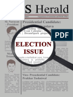 BITS Herald Election Issue 2014