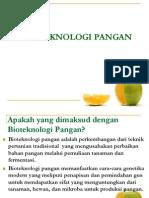 Bioteknologi Pangan1
