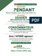 Affiche Afder Wordpress