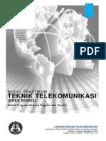 Modul Praktikum Teknik Telekomunikasi S1 Reguler Paralel Semester Genap 2013 2014