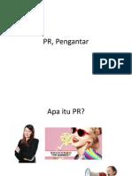 Pengantar PR